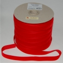 Nylvalour Samtband 22 mm, 75 m, rouge